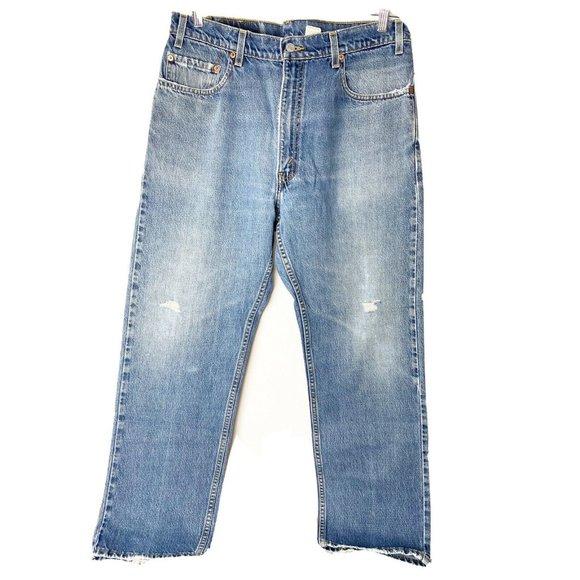 Levis Mens 505 Red Tab Vintage Tag 36x30 Jeans